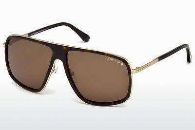 Óculos de marca Tom Ford FT0463 52K - Castanho, Dark, Havana