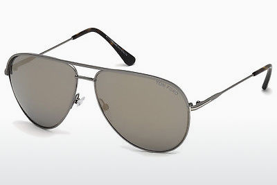 Óculos de marca Tom Ford Erin (FT0466 13C) - Cinzento, Dark, Matt