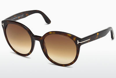 Óculos de marca Tom Ford Philippa (FT0503 52F) - Castanho, Dark, Havana