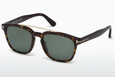 Óculos de marca Tom Ford Holt (FT0516 52R) - Castanho, Dark, Havana
