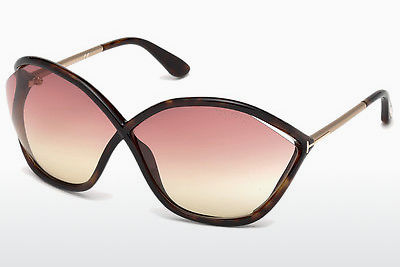 Óculos de marca Tom Ford Bella (FT0529 52Z) - Castanho, Dark, Havana
