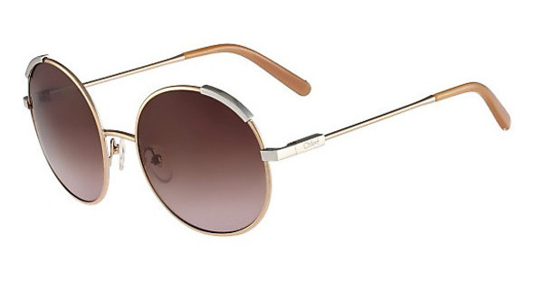 Chloé CE117S 755 ROSE GOLD/LIGHT BROWN