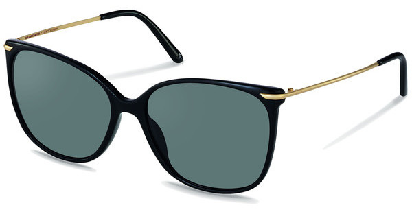 Claudia Schiffer C3007 A sun protect - smoky grey - 85 %black, gold