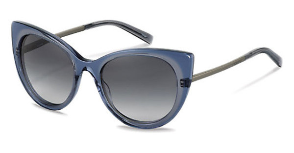 Jil Sander J0001 D sun protect - smokx grey gradient - 68%grey blue