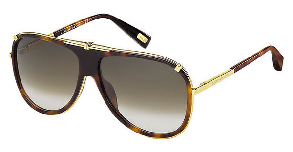 Marc Jacobs MJ 306/S 001/JS BROWN SFYELL GOLD (BROWN SF)