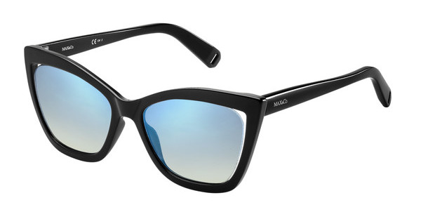 Max & Co. MAX&CO.285/S TWQ/DK FLASH BLUE SKYBLCK GREY (FLASH BLUE SKY)