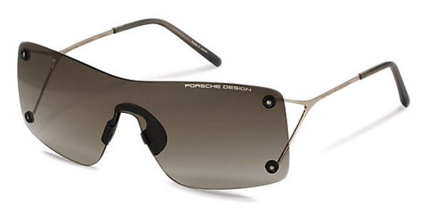 Porsche Design P8620 B brown clear gradient shields