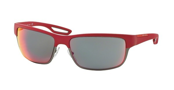 Prada Sport PS 50QS TWL9Q1 RED MULTILARYERRED RUBBER/MATTE GUNMETAL