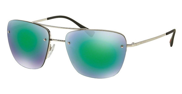 Prada Sport PS 52RS 1BC1M0 LIGHT GREEN MIRROR GREENSILVER
