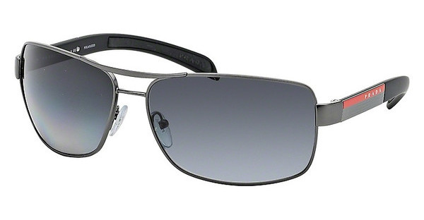 Prada Sport PS 54IS 7CQ5W1 POLAR GREY GRADIENTGUNMETAL DEMI SHINY