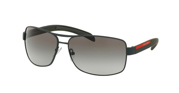 Prada Sport PS 54IS UFI0A7 GREY GRADIENTGREEN RUBBER