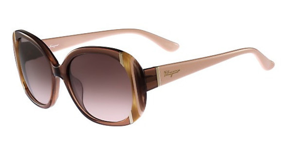 Salvatore Ferragamo SF674S 210 BROWN