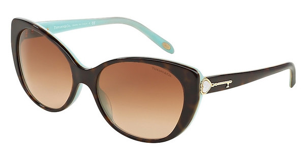 Tiffany TF4099H 81343B BROWN GRADIENTHAVANA/BLUE
