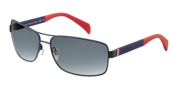Tommy Hilfiger TH 1258/S 4NP/JJ GREY SFBLUE RED (GREY SF)