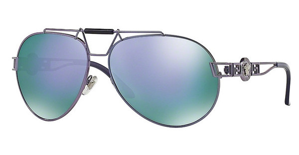 Versace VE2160 13494V GREY MIRROR VIOLETVIOLET SHOT