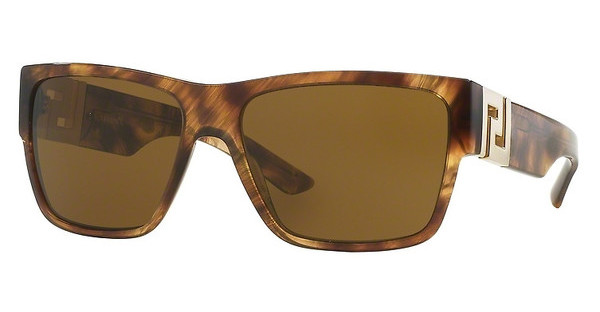 Versace VE4296 514373 BROWNSTRIPED HAVANA
