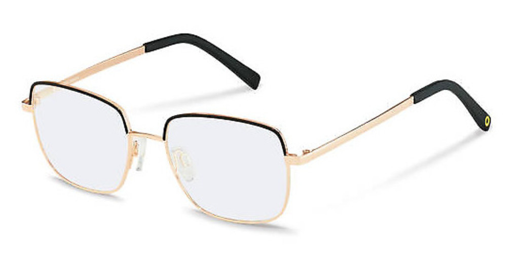 Rocco by Rodenstock   RR220 A black, rose gold