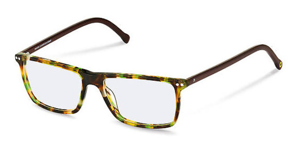 Rocco by Rodenstock   RR437 D green havana, dark brown