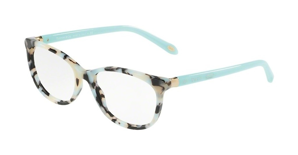 Tiffany   TF2135 8213 BEIGE HAVANA SPOTTED BLUE