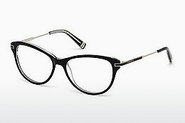 Óculos de design Dsquared DQ5163 003 - Preto, Transparent