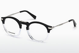 Óculos de design Dsquared DQ5211 003 - Preto, Transparent