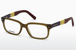 Óculos de design Dsquared DQ5216 046 - Castanho, Bright, Matt
