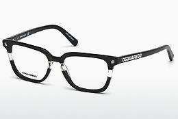 Óculos de design Dsquared DQ5226 003 - Preto, Transparent