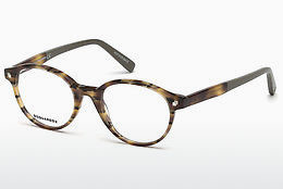 Óculos de design Dsquared DQ5227 053 - Havanna, Yellow, Blond, Brown