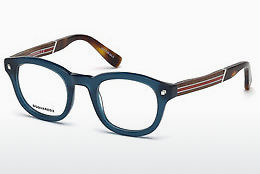 Óculos de design Dsquared DQ5230 090 - Azul, Shiny