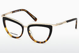 Óculos de design Dsquared DQ5238 056 - Havanna