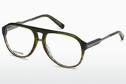 Óculos de design Dsquared DQ5242 098 - Verde, Dark