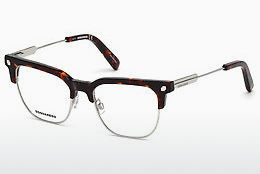 Óculos de design Dsquared DQ5243 054 - Havanna, Red