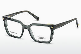 Óculos de design Dsquared DQ5247 093 - Verde, Bright, Shiny