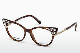 Óculos de design Dsquared DQ5256 053 - Havanna, Yellow, Blond, Brown