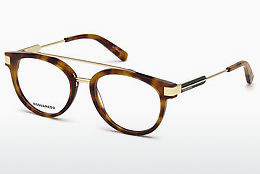 Óculos de design Dsquared DQ5261 053 - Havanna, Yellow, Blond, Brown