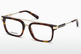 Óculos de design Dsquared DQ5262 053 - Havanna, Yellow, Blond, Brown