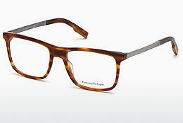Óculos de design Ermenegildo Zegna EZ5142 053 - Havanna, Yellow, Blond, Brown