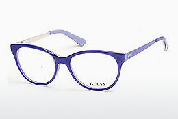Óculos de design Guess GU2539 086 - Azul, Azurblue