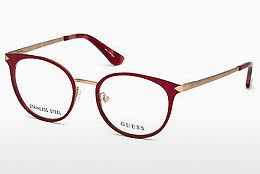 Óculos de design Guess GU2639 069 - Bordeaux, Bordeaux, Shiny