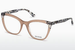 Óculos de design Guess GU2674 059 - Corno, Beige, Brown