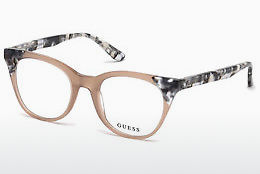 Óculos de design Guess GU2675 059 - Corno, Beige, Brown