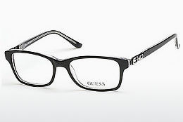 Óculos de design Guess GU9131 003 - Preto, Transparent