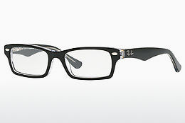 Óculos de design Ray-Ban Junior RY1530 3529 - Preto, Transparente