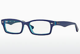 Óculos de design Ray-Ban Junior RY1530 3587 - Azul, Transparente