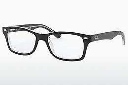 Óculos de design Ray-Ban Junior RY1531 3529 - Preto, Transparente