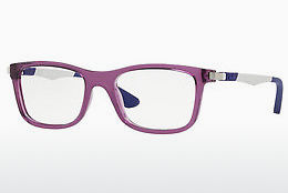 Óculos de design Ray-Ban Junior RY1549 3735 - Transparente, Azul