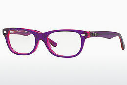 Óculos de design Ray-Ban Junior RY1555 3666 - Púrpura