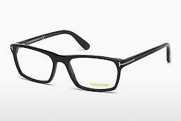 Óculos de design Tom Ford FT4295 002 - Preto, Matt