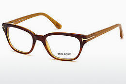 Óculos de design Tom Ford FT5207 047 - Castanho, Bright