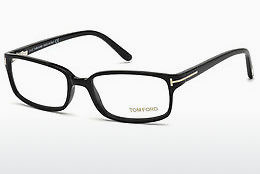 Óculos de design Tom Ford FT5209 001 - Preto, Shiny